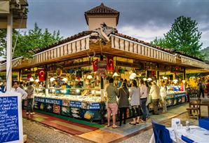Fethiye is famous for its local Fish market.